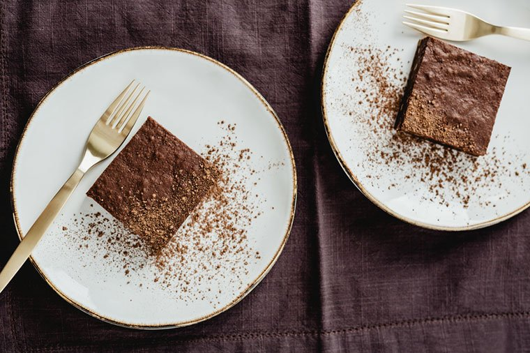 Blanca Padilla's brownie recipe
