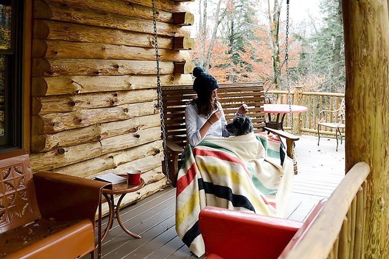 Cabin-inspired hygge decor for your home