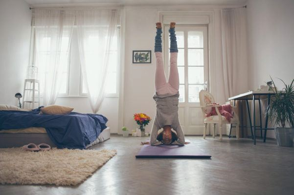 Why doing inversions on your period could be bad for your health