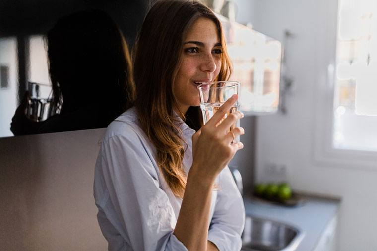 Thumbnail for This Is the Right Way to Drink Water, According to Ayurveda