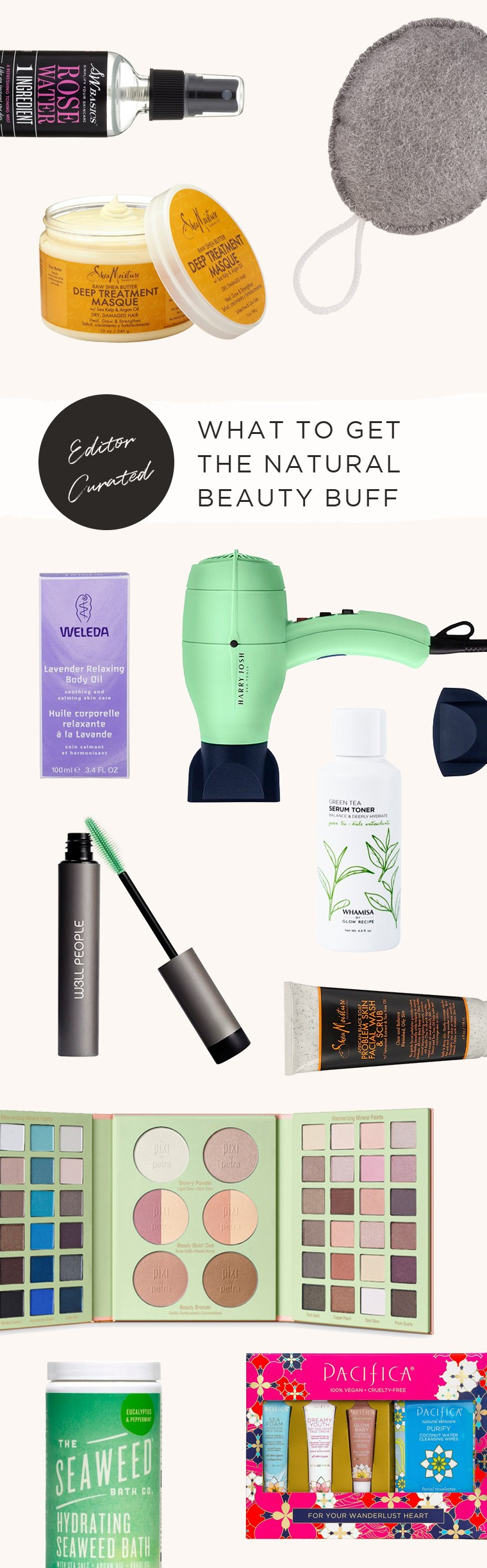 natural beauty buff gift guide