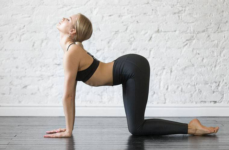 Thumbnail for 5 yoga poses that can give your sex life a *satisfying* boost