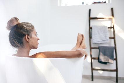 9 travel-friendly bath accessories for a restorative soak *anywhere*