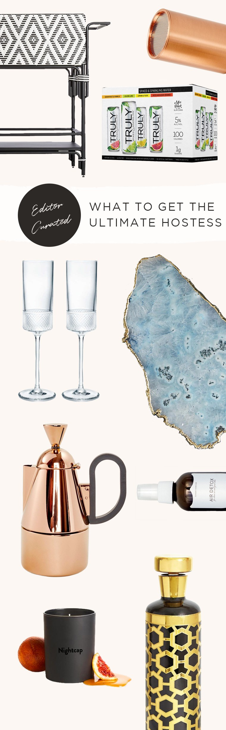 holiday hostess gift guide Truly Spiked & Sparkling