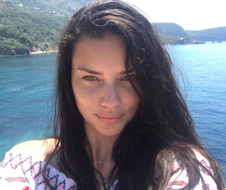 adriana lima fitness travel