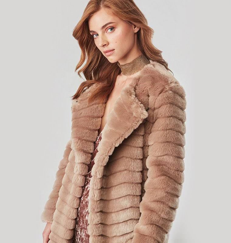 BB Dakota McCoy Faux Fur Coat