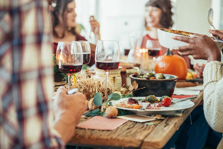 the holidays can bring up emotions around eating