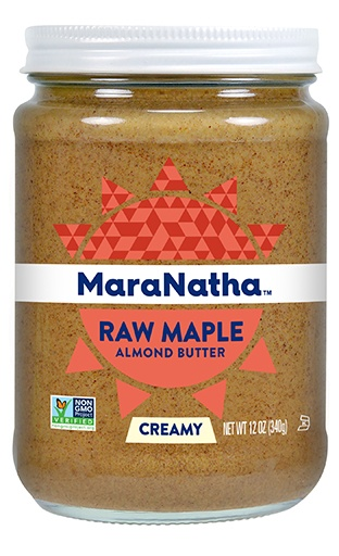 maranatha raw maple almond butter