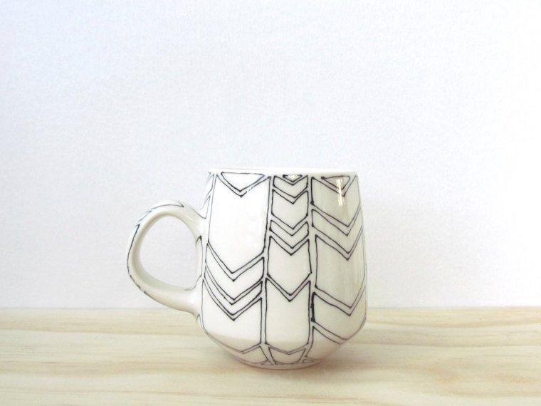 Melissa Maya Pottery chevron mug