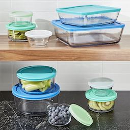 Thumbnail for Kick plastic out of your kitchen with these 5 glass food containers