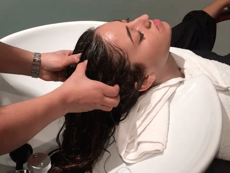 scalp facial