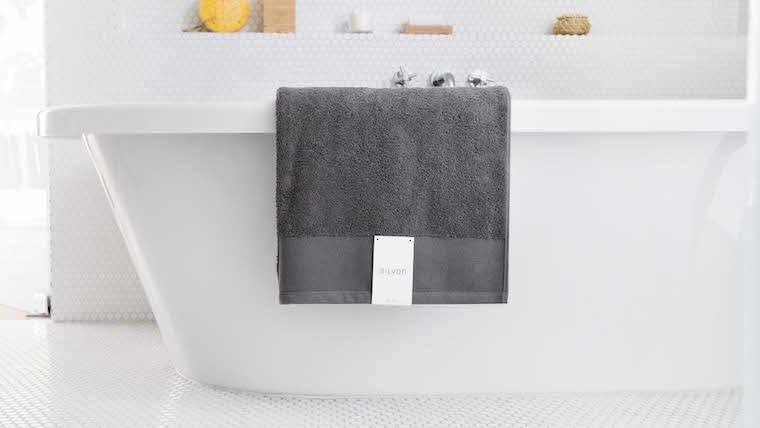 silvon silver towels clear skin