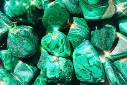 "How to best use malachite—AKA ""the Botox of crystals"""