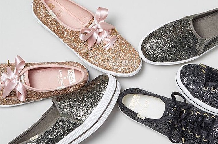 Thumbnail for Twinkle-toes alert: Get festive this winter with these 11 glittery sneakers