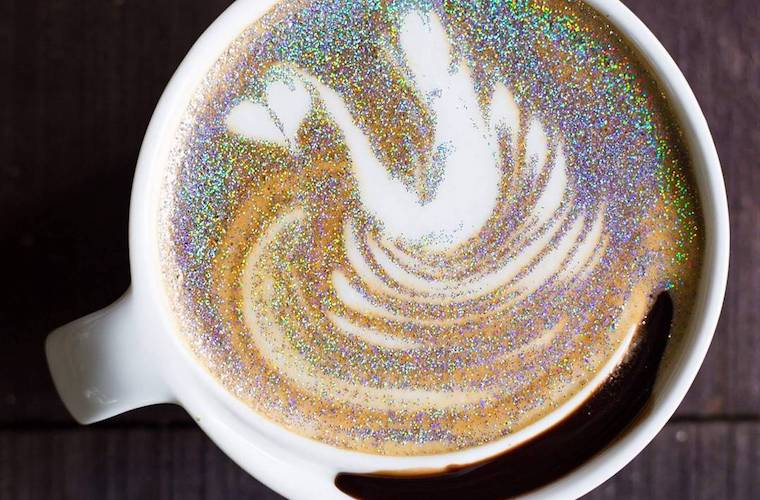 Thumbnail for This café is serving the glittery cappuccinos of your unicorn-food dreams