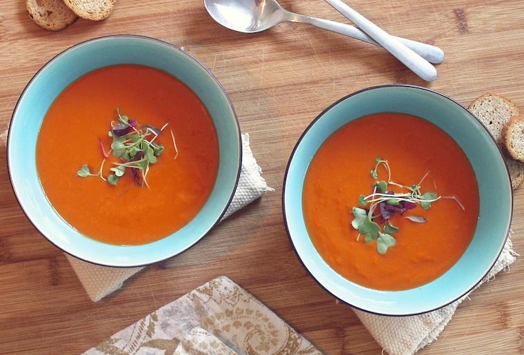 Imagine tomato soup