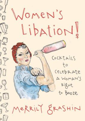 women's libation cocktail book