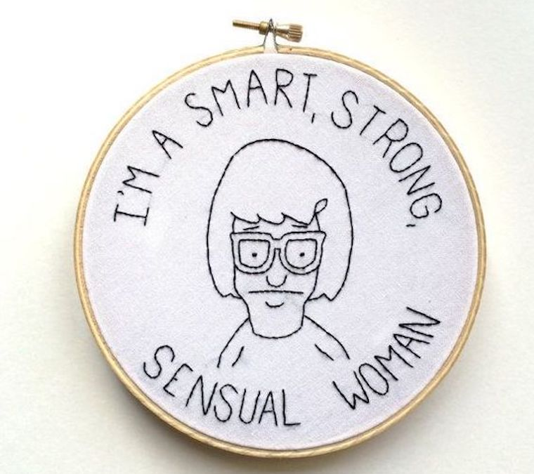 Thumbnail for 7 feminist needlepoint works to inspire empowerment *and* mindfulness