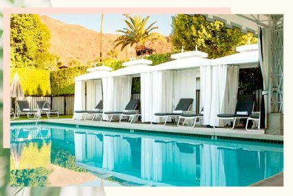 Explore the Avalon Hotel, your home-base for the Well+Good Retreat in Palm Springs