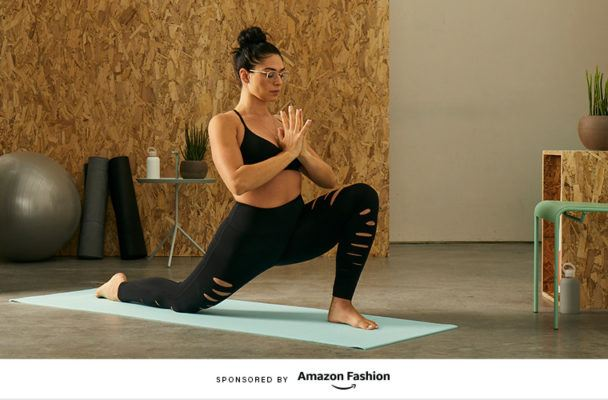 How this edgy-cool yogi refreshes her workout look for the New Year