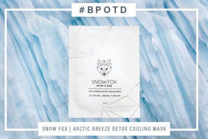 #BPOTD: This sheet mask instantly brightens dull winter skin
