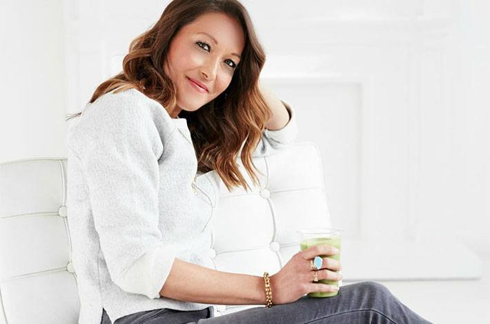 Grocery list and recipe guide from Candice Kumai