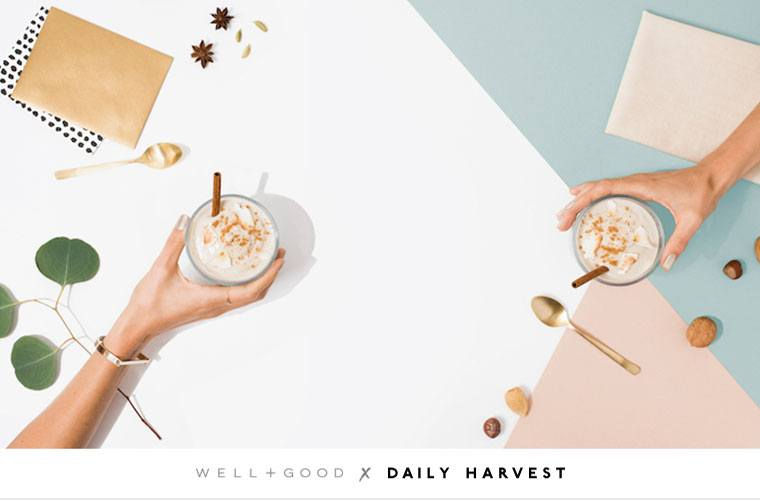 daily harvest well+good collaboration