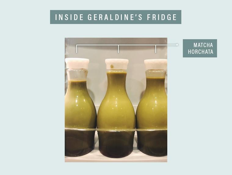 Geraldine's matcha horchata