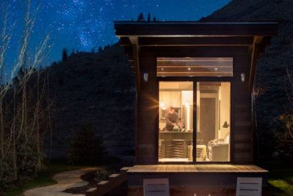 Take a tiny home for a test run at this trendy ski destination in Wyoming