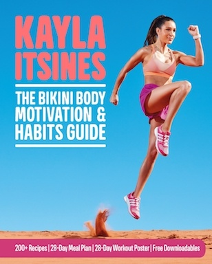Kayla Itsines The Bikini Body Motivation and Habits Guide