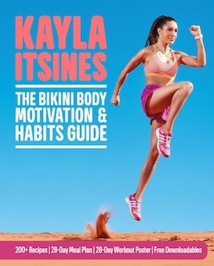 Kayla Itsines The Bikini Body Motivation and Habits Guide
