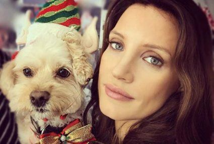 Puppy love: These 6 celebs are celebrating the season with pets
