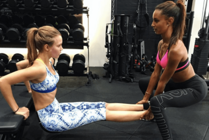 3 times Victoria's Secret models JoJa inspired us to find a fitness buddy, stat