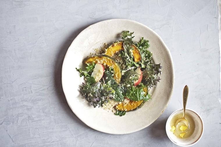 Candice Kumai squash salad