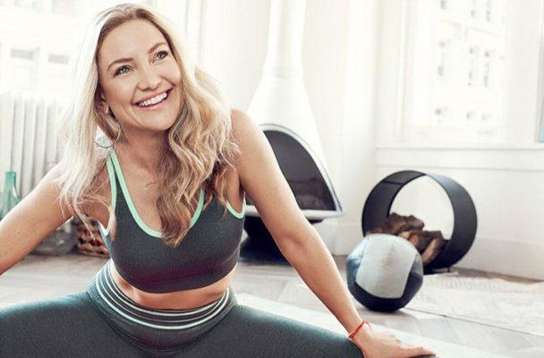 The ab-sculpting, leg-strengthening (equipment-free!) Pilates move Kate Hudson swears by
