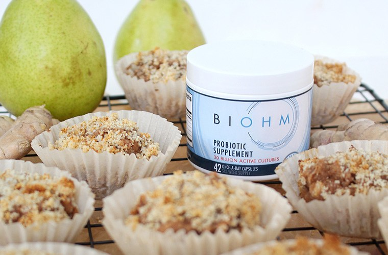 Thumbnail for This probiotic-packed muffin recipe is a serious morning time-saver