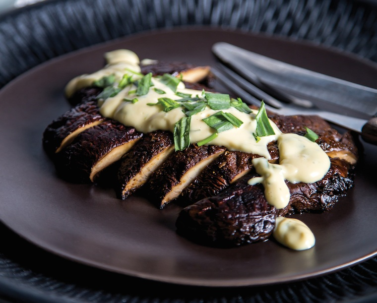 Vegan Steak and Bearnaise Sauce