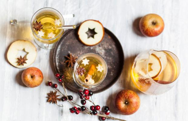 Thumbnail for 4 ways to give your Apple Cider Vinegar cocktail a festive holiday makeover