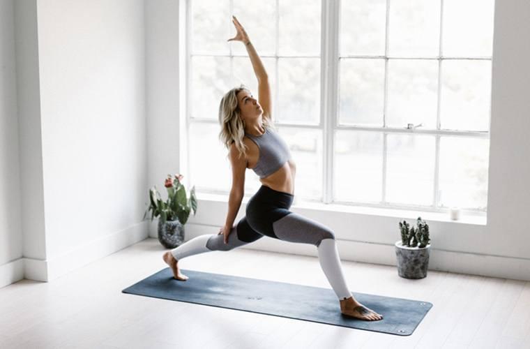 Go to a yoga studio to unplug.