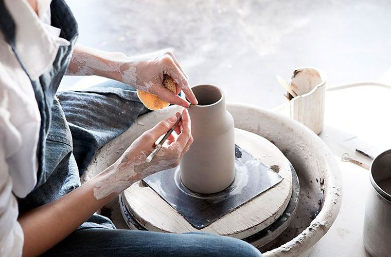 How pottery can help with stress