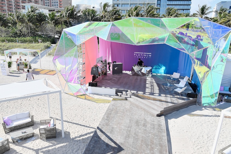 american express art basel events
