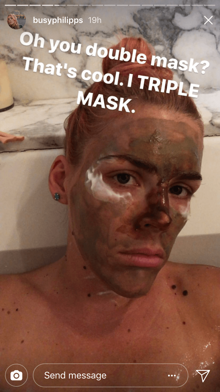busy philipps face masks