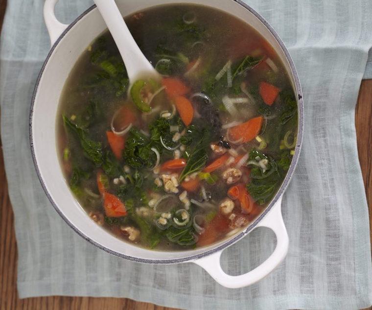 Candice Kumai barley soup