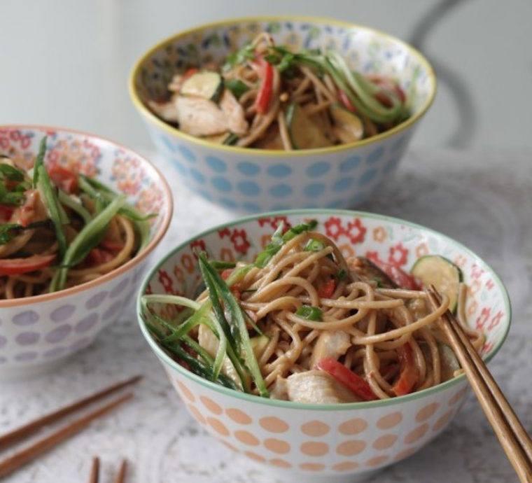 Candice Kumai almond noodles
