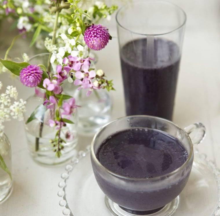 Candice Kumai blueberry smoothie