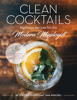 Clean Cocktails book