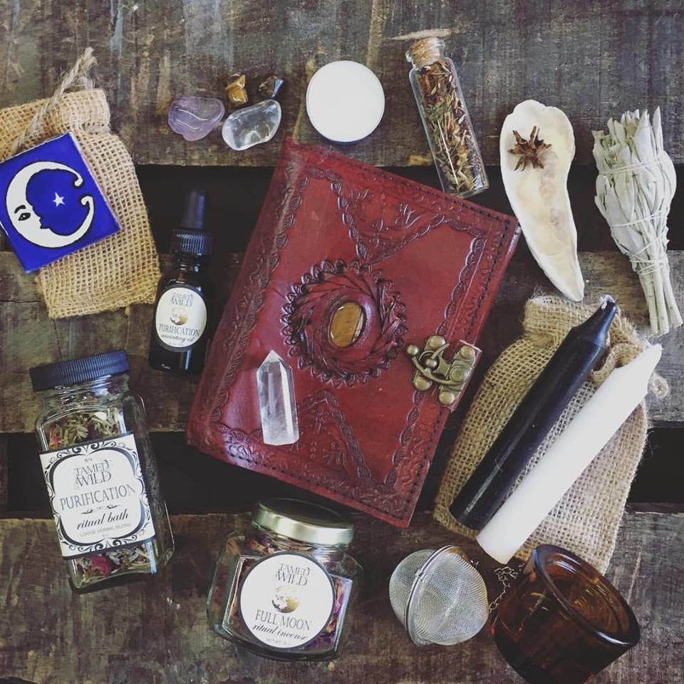 tamed wild house of rituals goddess subscription box