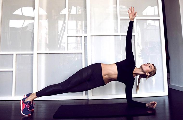Thumbnail for Exclusive: You can now work out like Karlie Kloss at home because modelFIT's launched online videos