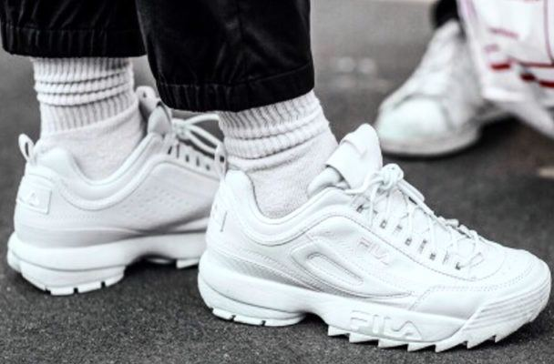 In defense of chunky sneakers, the comfiest footwear trend of 2018