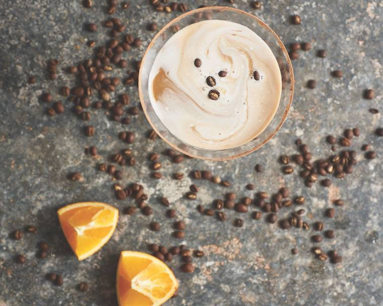 Thumbnail for Why health coaches love this coconut-cacao martini